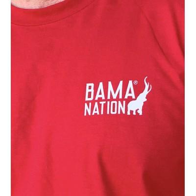 Crimson Bama Nation Tee