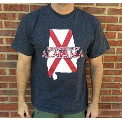 Bama State Outline Shirt
