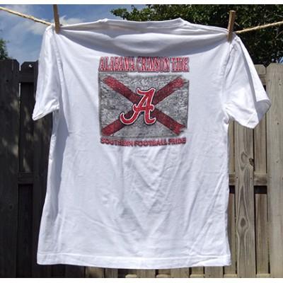 White Football Youth Shirt