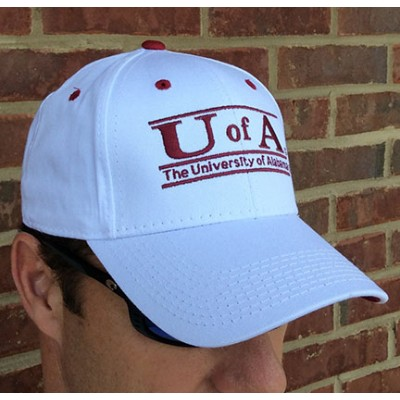 Game White Alabama Cap